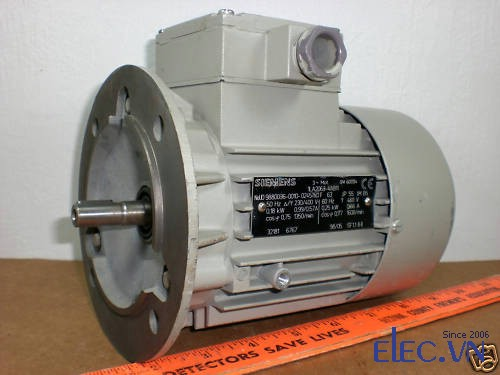 Motor Siemens mặt bích
