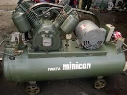 Máy nén khí piston- có tủ cách âm Nhật bãi