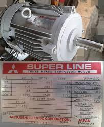 Động cơ điện Mitsubishi 18.5 kw 4 poles