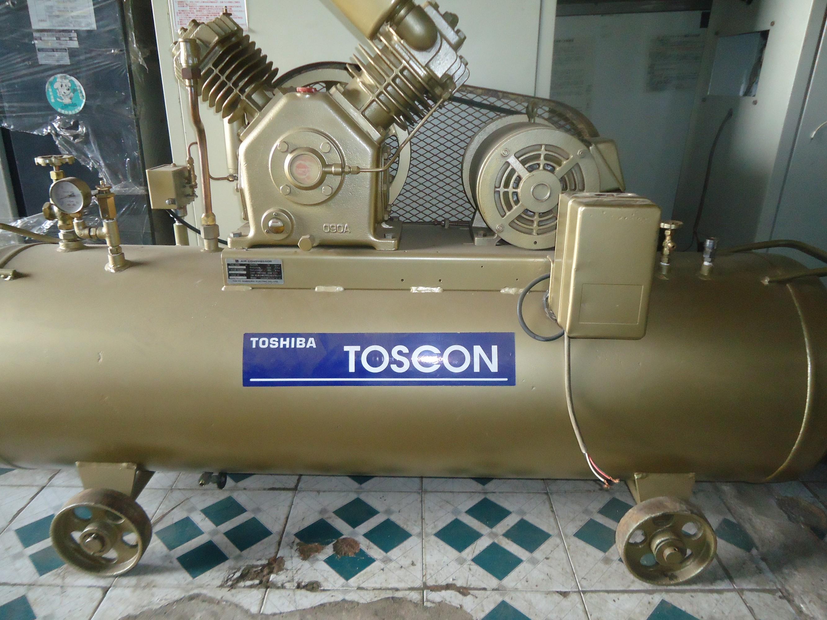 MÁY NÉN KHÍ TOSHIBA 5,5 KW - 7.5KW